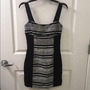 H&M   Woven Bodycon Mini Dress NWT